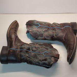 Ariat Tombstone Western Cowboy Ladies Boots sz 8.5